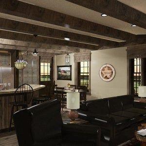 Brn05 house plan 1 788 sqft 3 bedroom 2 1 2 bath ranch style barndominium