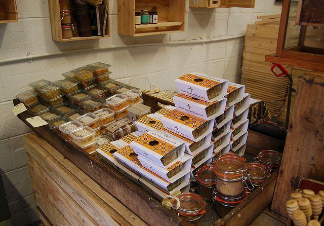 The London Honey Company. Maltby Street market and Spa Terminus, via Flickr.