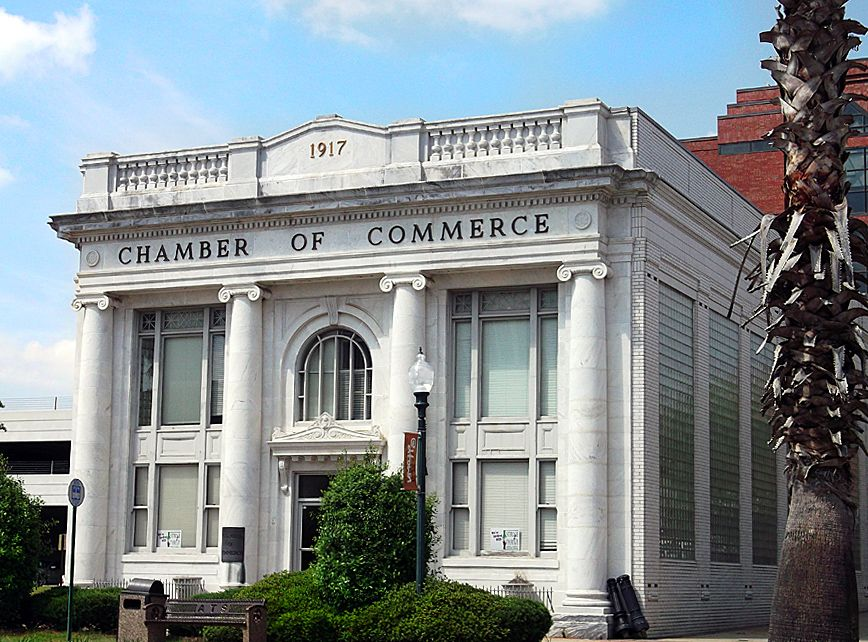 Chamber Of Commerce Albany Georgia Formerly City National Bank Then First State Bank Where Daddy Worked For 6 Georgia History Albany Georgia Georgia Homes