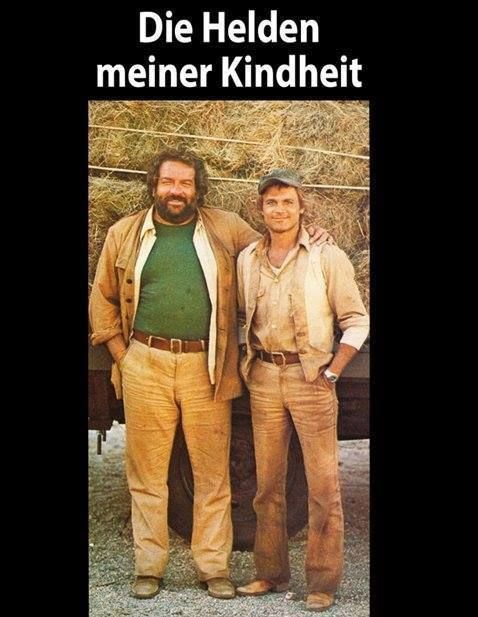 Bud Spencer & Terence Hügel #hollywoodicons