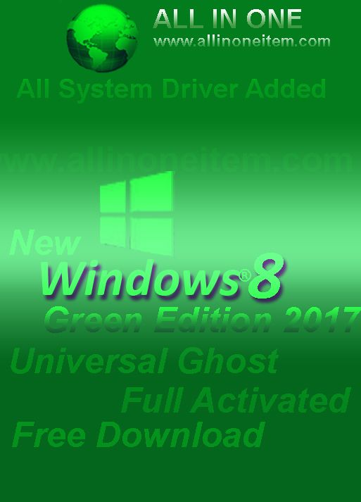 windows 8 green edition 2017 download