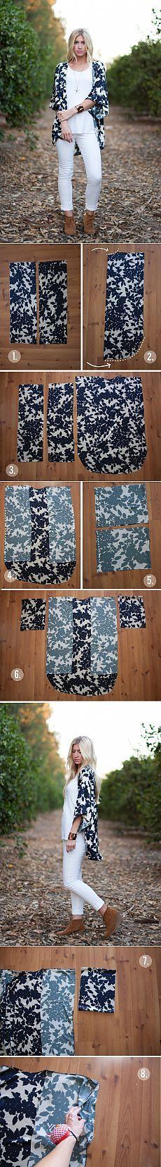 Nós costurar um kimono (tráfego) / padrão simples /