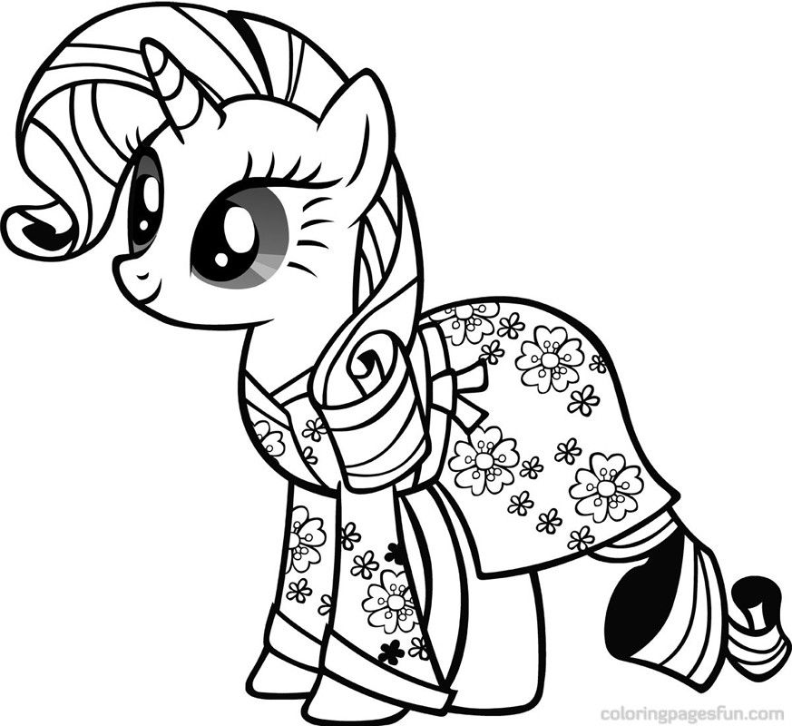 My Little Pony Fluttershy Coloring Pages My Little Pony Coloring Unicorn Coloring Pages My Little Pony Printable