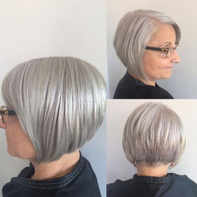 Hairstyles For Over 60 Grey Hair 2020 Thick Hair Styles Over 60 Hairstyles Bob Haircuts For Women