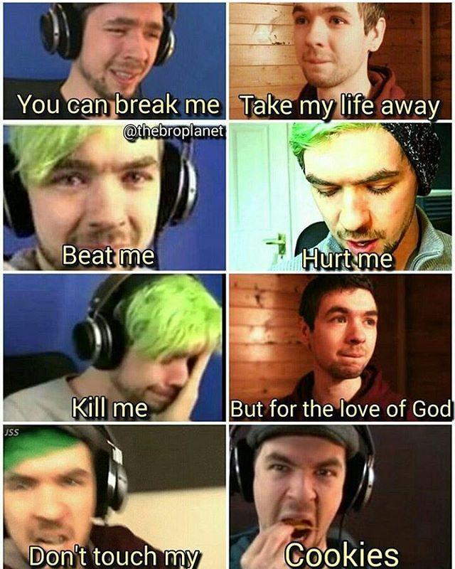 I Started Crying Then I Laughed Jacksepticeye Memes Jacksepticeye Youtubers Funny