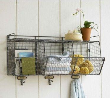 Wire Bin Shelf