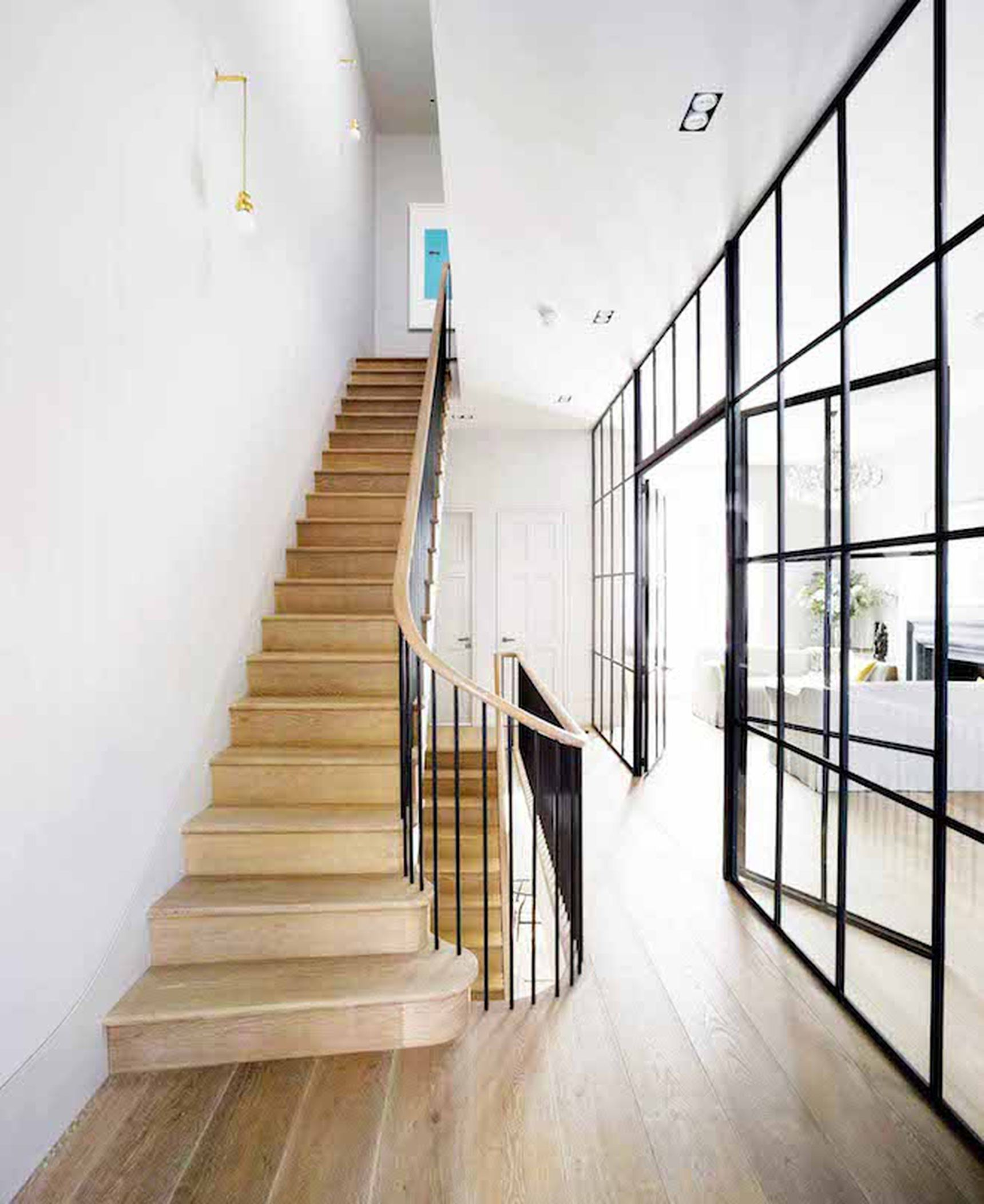 This Gorgeous London Townhouse Embodies Minimalist Swank  Curbed
