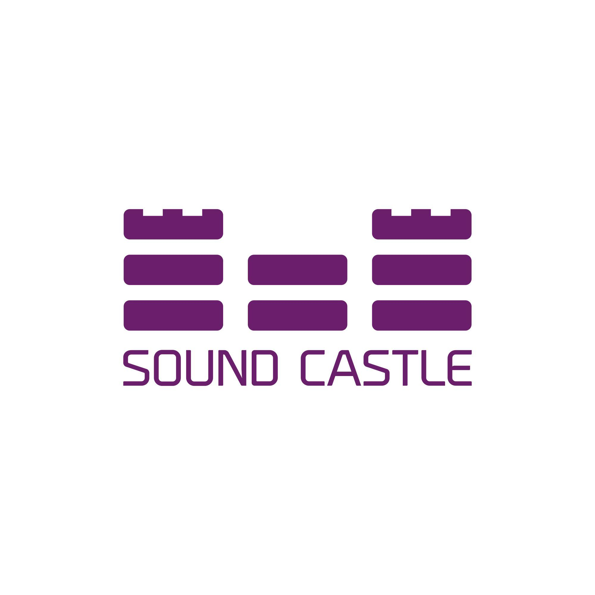 sound castle logo design for an electronic music club this logo rh pinterest com electronics logos list electronic logs for sale