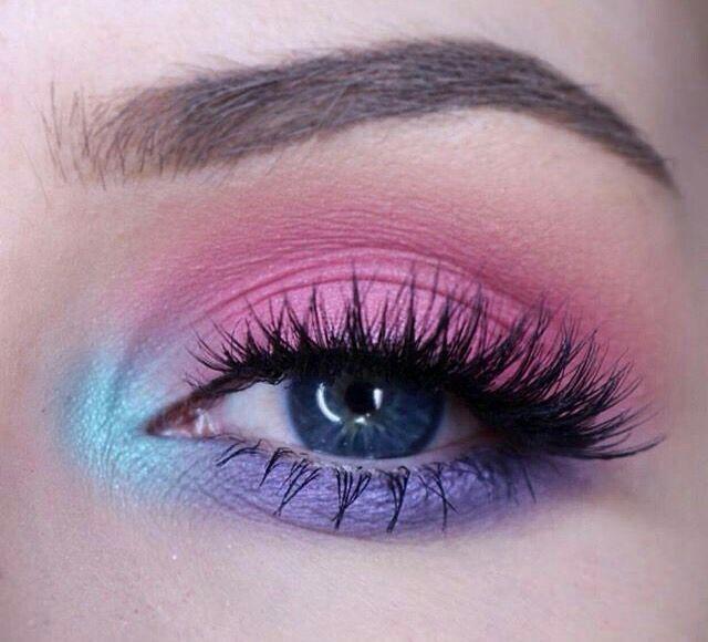 Simple Pastel Eye Makeup Beauty Pinterest Oi A Len