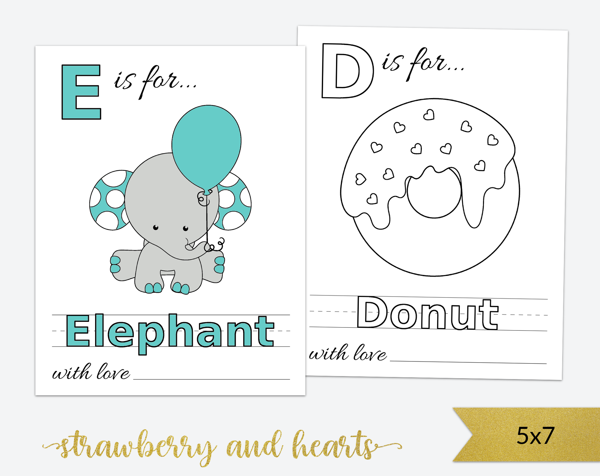 Baby S First Abc Book Coloring Pages Baby Shower Activity Baby Shower Book Abc Coloring Abc Book