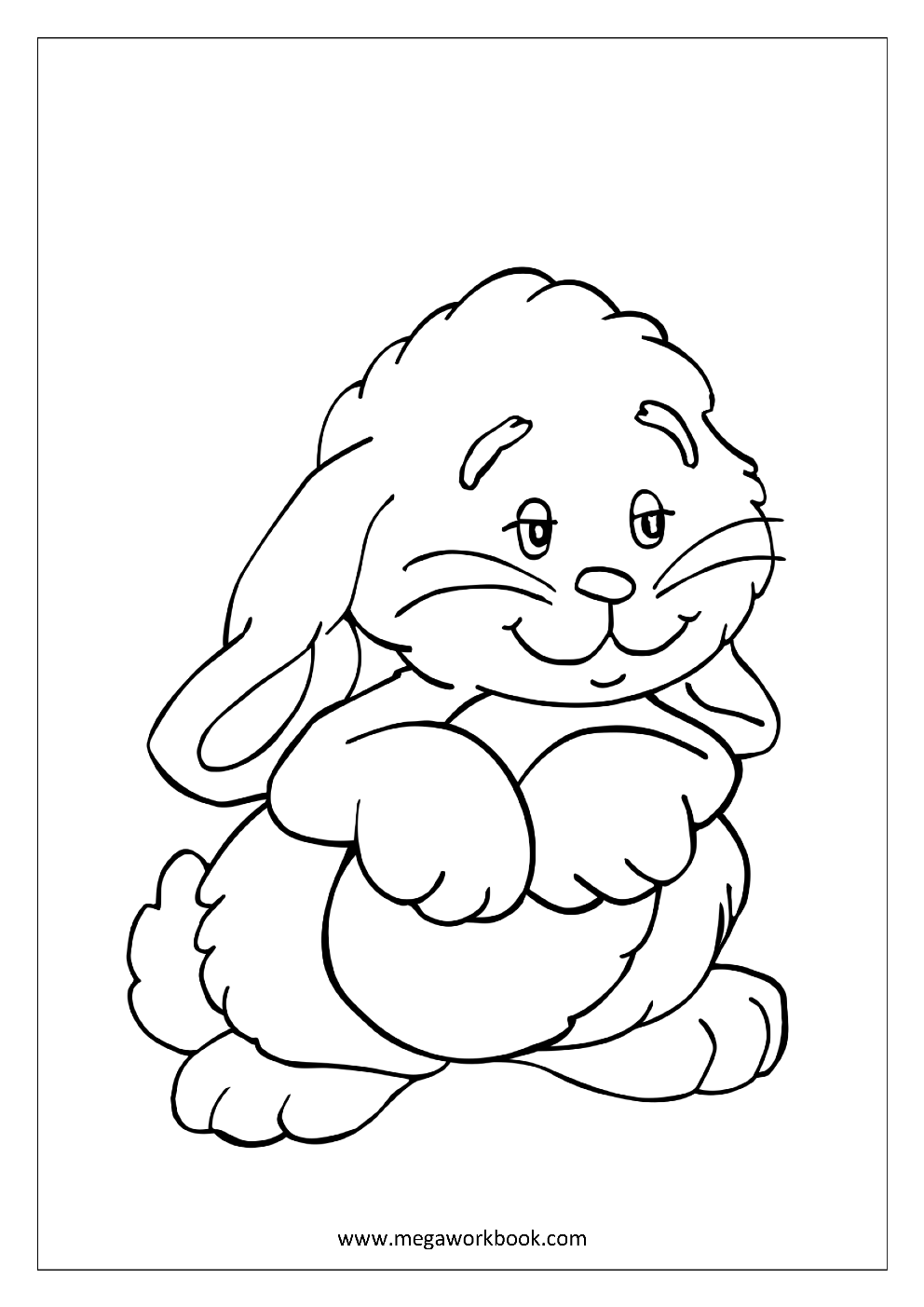 Tipss Und Vorlagen Animals Coloring Page For Kids Malvorlage Hase Kostenlose Ausmalbilder Ausmalbilder