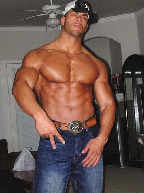 Gay big muscle Is The