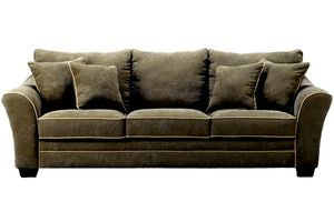 Great 3 Affordable Ashley Furniture Sofas: Durapella Basketweave   Olive