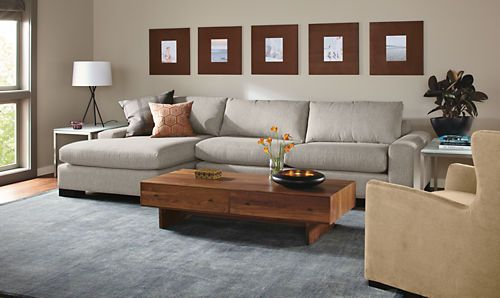 Townsend Sofas With Chaise Sectionals Living Room Board