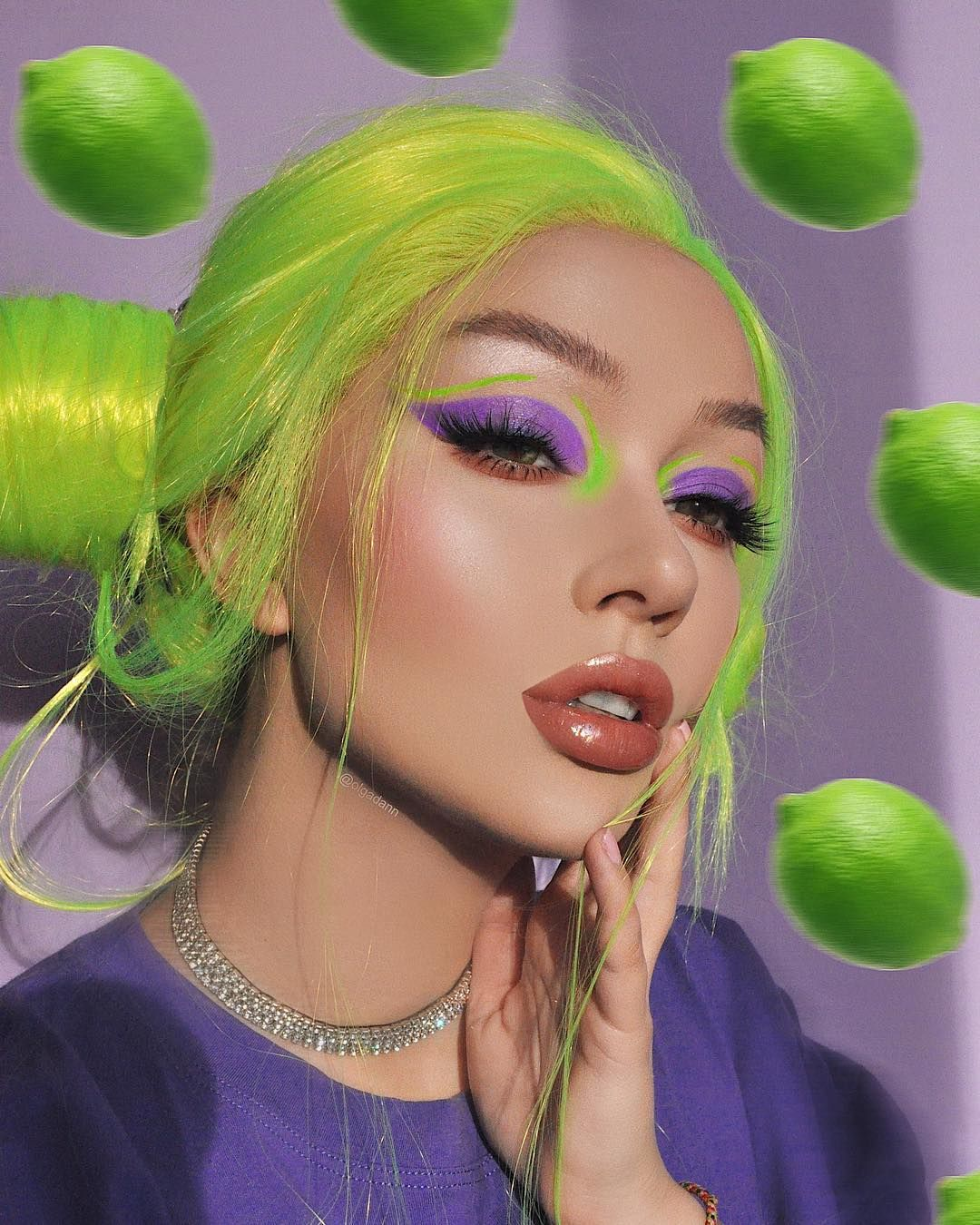 Creative Makeup Retouch On Instagram Lime Lime Limecrime