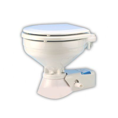 Jabsco Quiet Flush Electric Marine Toilet Seawater 37245 Series Electric Toilet Toilet Electricity