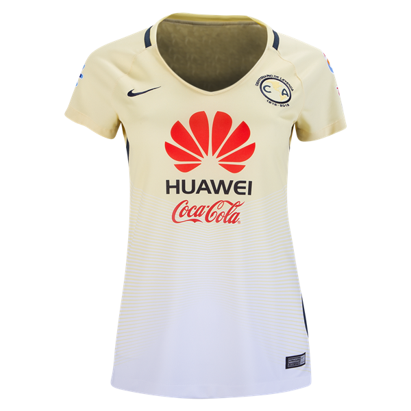 new styles bee6e 49df2 Nike Club America Women's Home Jersey 16/17 | Leagues: Liga ...