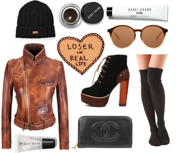 """loser."" by goldiloxx on Polyvore"
