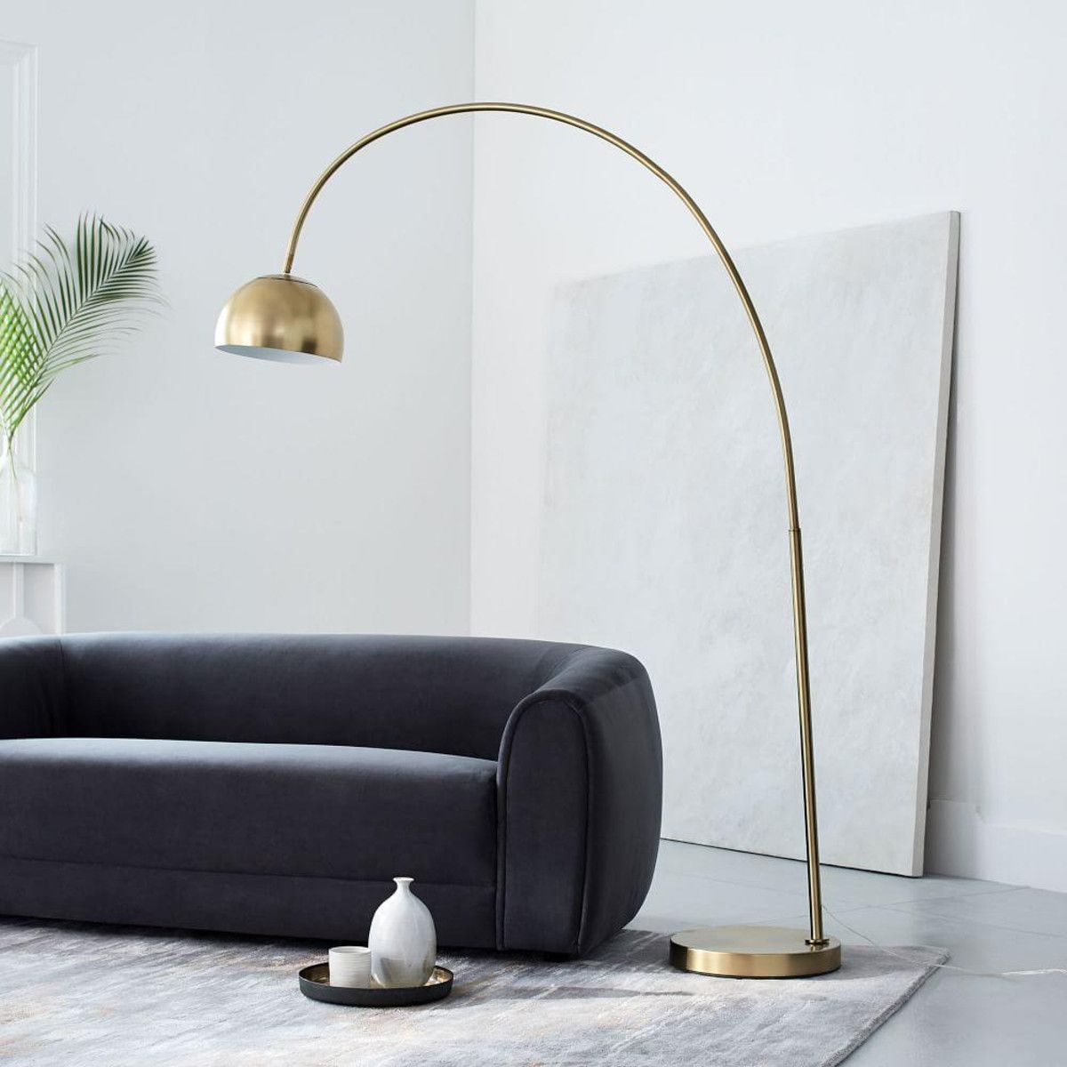Overarching Metal Shade Floor Lamp Overarching Floor Lamp Cool