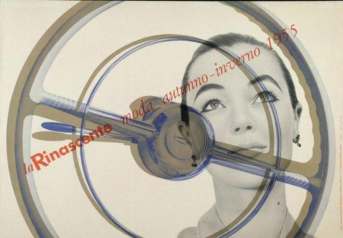 Max Huber - La Rinascente moda, 1955