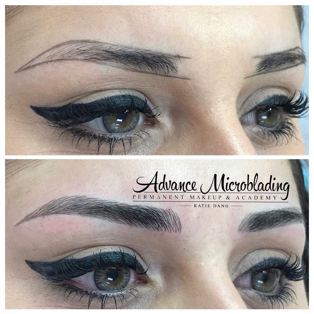 Microblading by Katie Dang. Service & Training Available