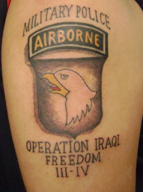 how many tattoos can you have in the army