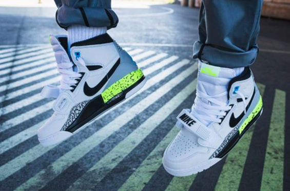 da07ebbd971483 Get Ready For The Jordan Legacy 312 Command Force Volt The Jordan Legacy 312  Command Force