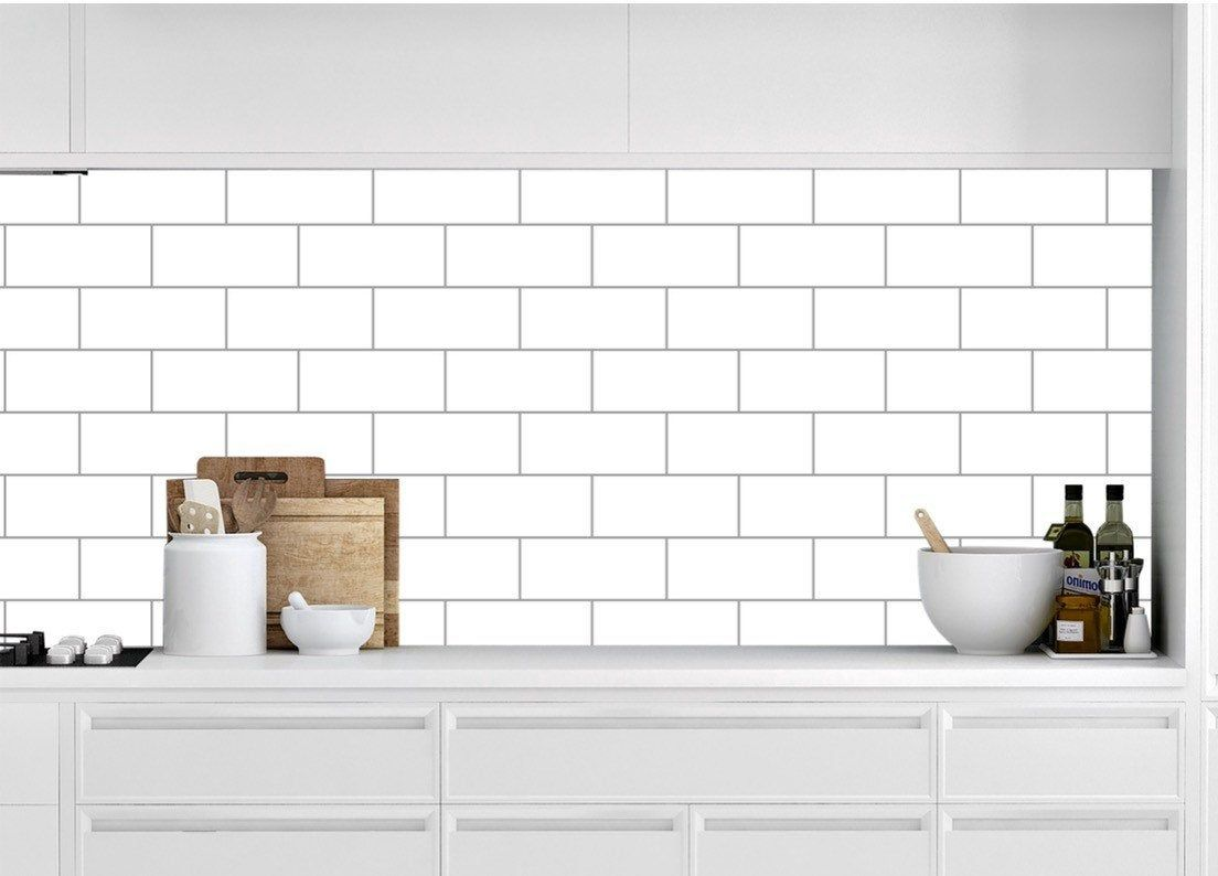 Removable Peel And Stick Wallpaper White Subway Tile Peel And Etsy White Subway Tile Peel And Stick Wallpaper Wall Waterproofing