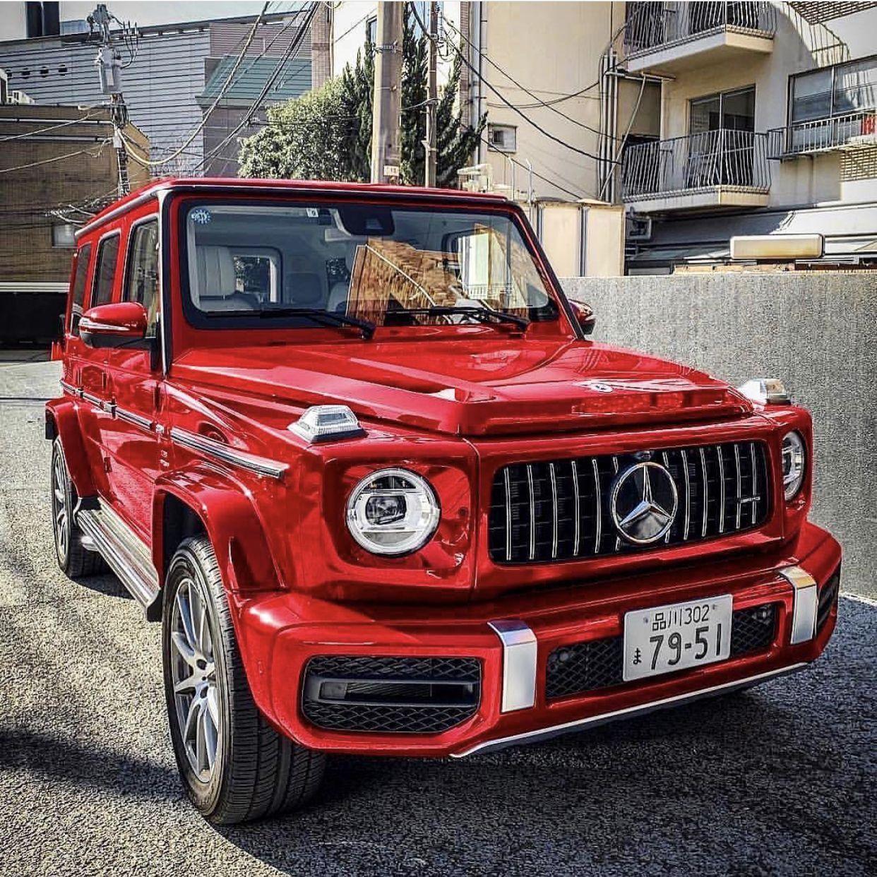G Class Red Mercedes Benz In 2020 Top Luxury Cars G Class Best