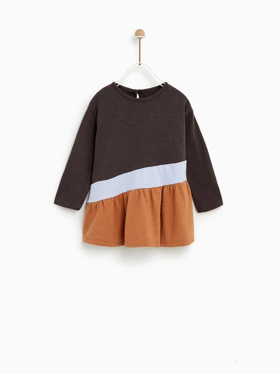 42cbb700981 ZARA - KIDS - TRICOLOUR DRESS. ZARA - KIDS - TRICOLOUR DRESS Φορέματα Για  Κοριτσάκια ...