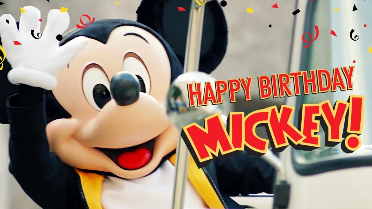 This year, Mickey Mouse celebrated his birthday with a