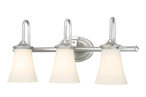 Bathroom Vanity Lights At Menards : Caspian 3-Light 24.5