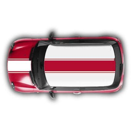 Mini Cooper striping 1 - Stickythings.nl  #mini #autosticker #sticker