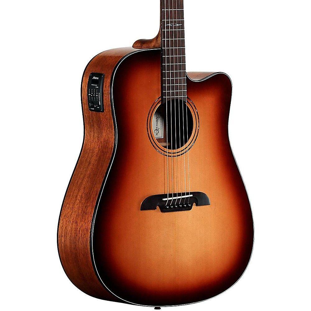 Acoustic Electric Guitars Collection Here Alvarez Ad610ceshb Dreadnought Acoustic-electric Guitar