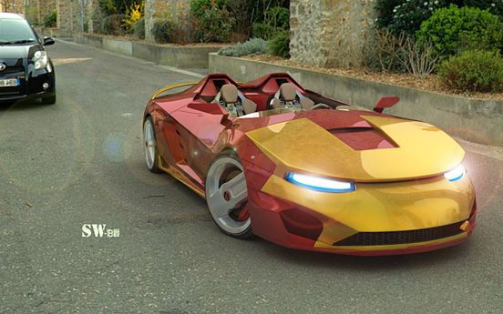 awesome iron man sports car someday pinterest sports cars rh pinterest com
