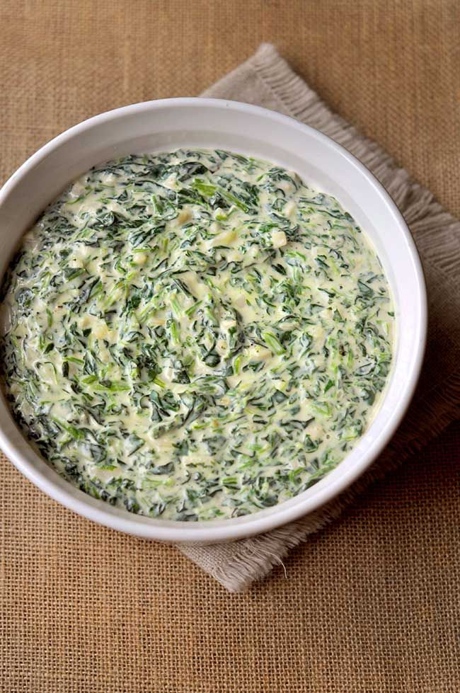 Easy Homemade Creamed Spinach Recipe Creamed spinach
