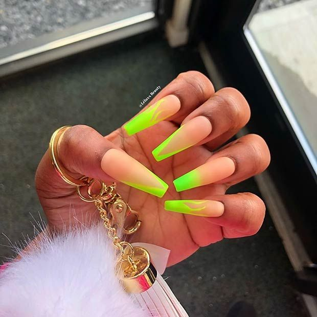 43 Neon Green Nails to Inspire Your Summer Manicure | StayGlam