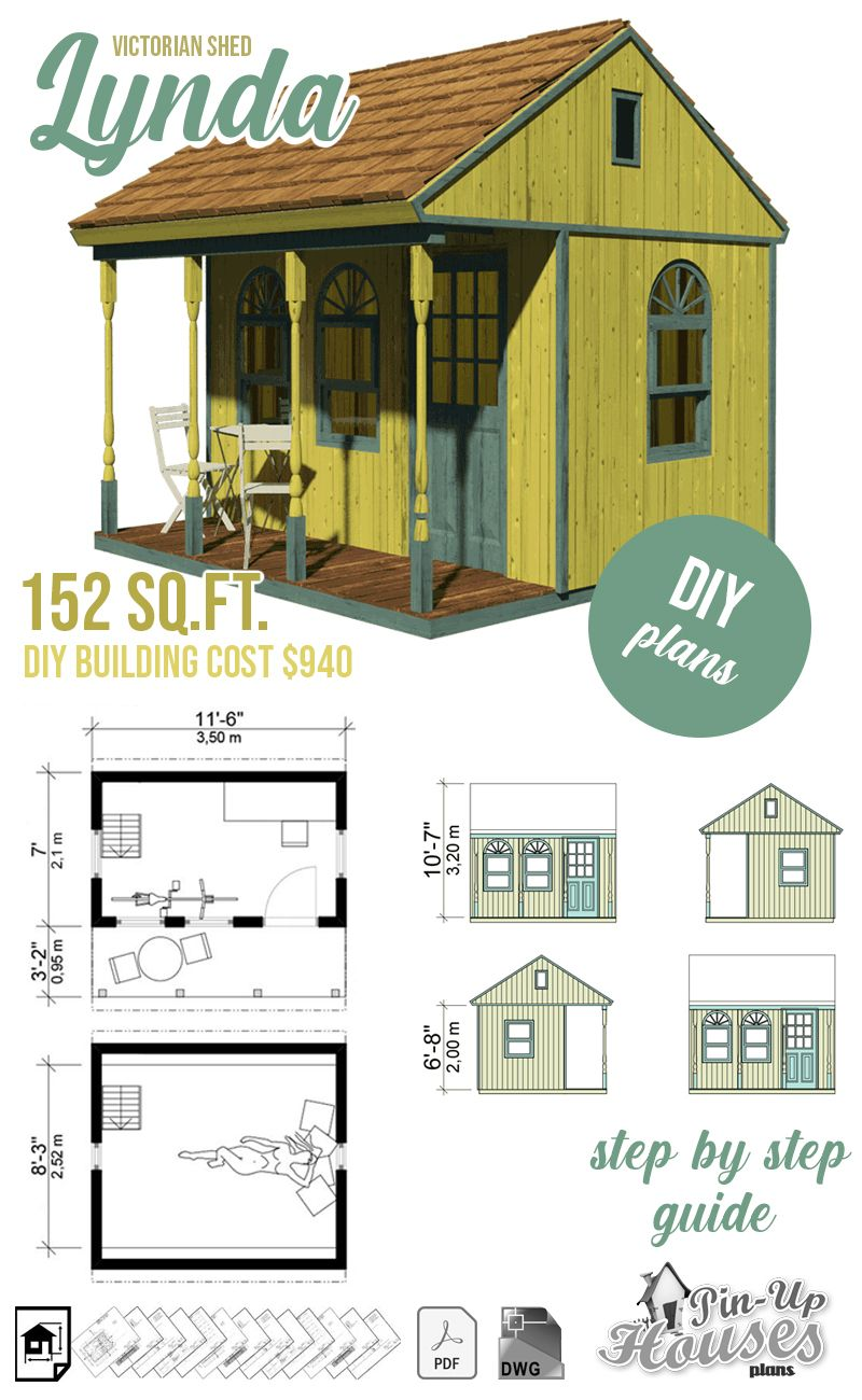 Victorian Shed Plans in 2020 | Victorian sheds, Shed plans, Building a tiny  house