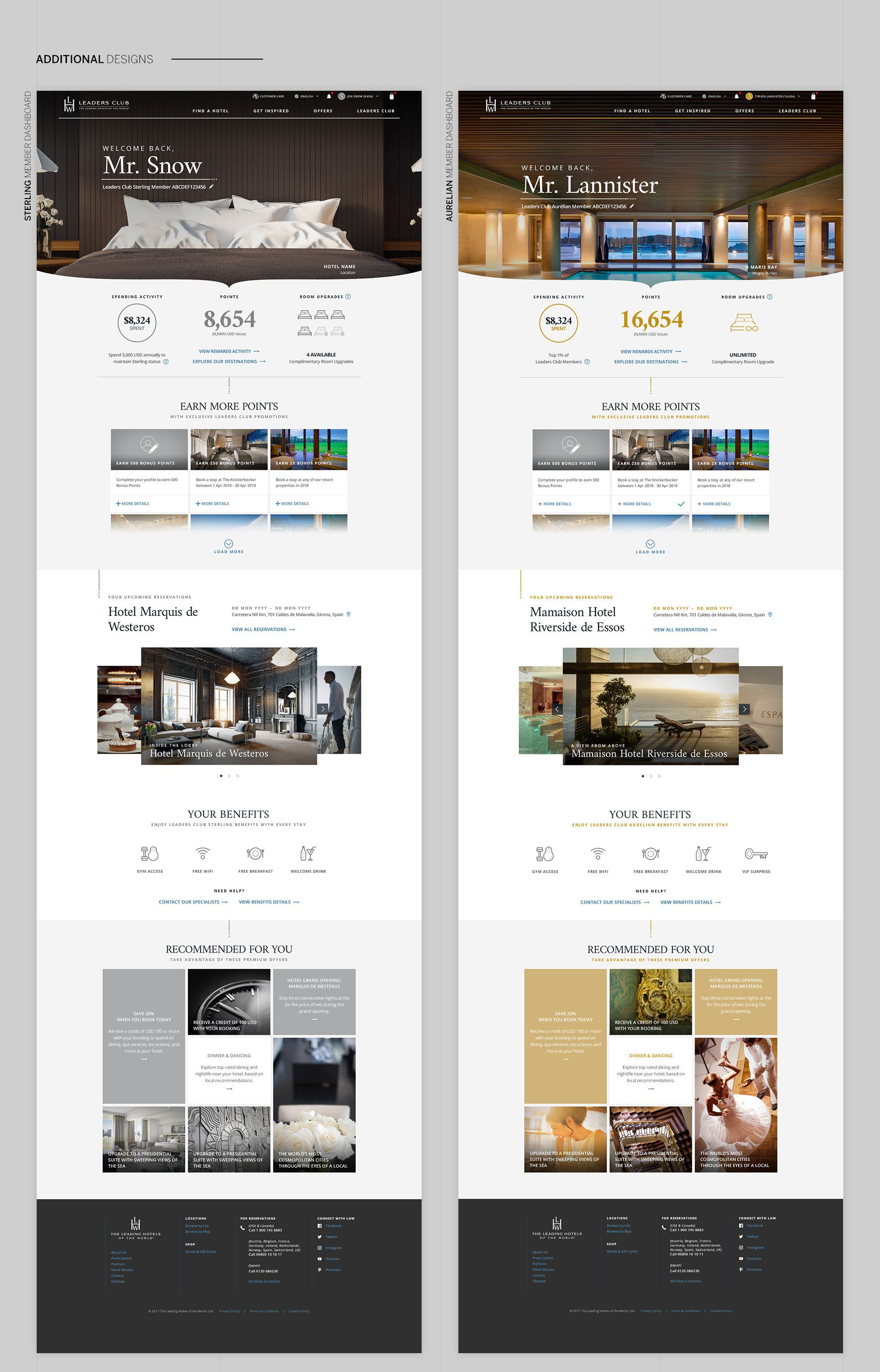 Hai Tran Creative Direction Design Leading Hotels Of The World Site Redesign Hotel Website Design Hotel Website Site Design
