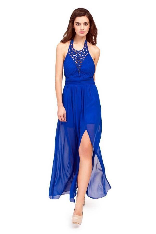 Cobalt Blue Dress What Color Shoes Wedding Pinterest