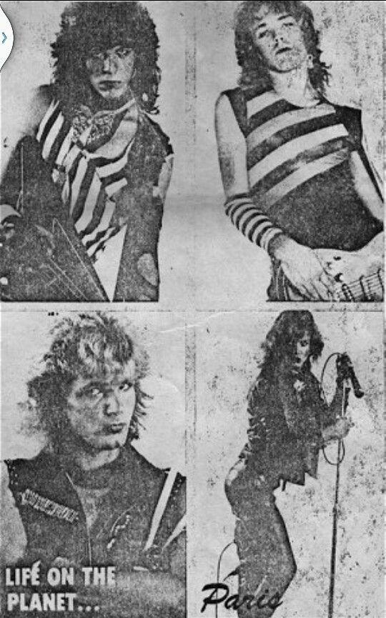 "1983 ""Paris"" Bret Michaels Bobby Dall Rikki Rockett Matt Smith | Bret  michaels, Bret michaels poison, Matt smith"