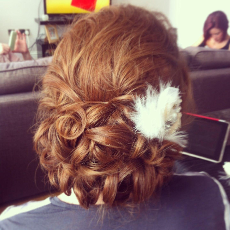 wedding hair by lisa cameron hairdresser north east hair up
