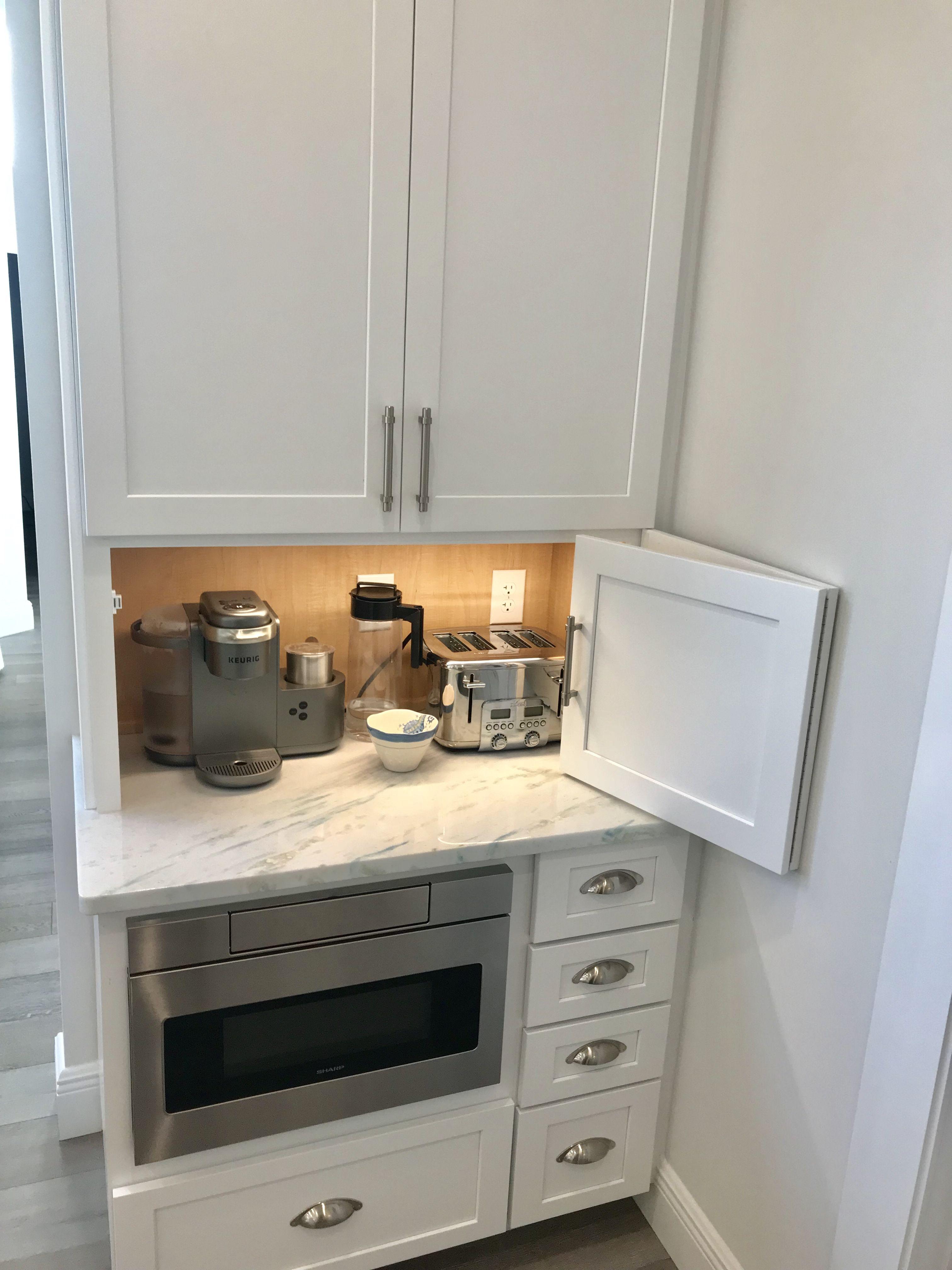 Coffee Bar Small Kitchen Cabinets Modern Kitchen Storage Kitchen Layout