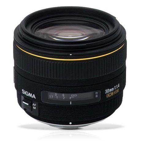 Sigma Lens 30mm F1 4 Ex Dc Hsm Sigma Lenses Digital Camera Prime Lens