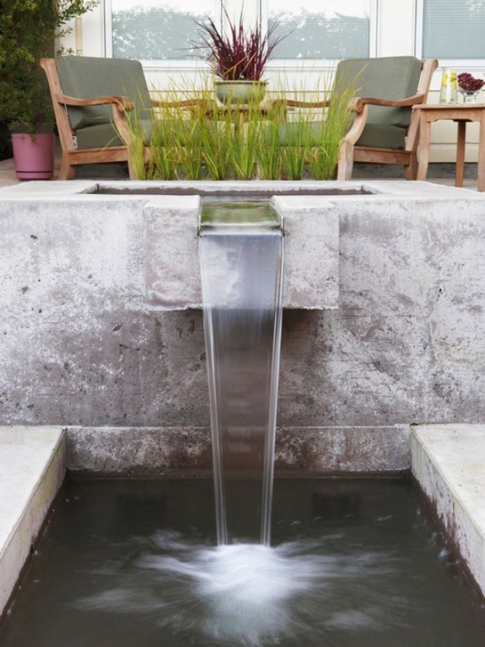Cascade de jardin, fontaine et bassin- 80 oasis modernes | Wasser ...