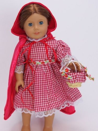 Little-Red-Riding-Hood-3-piece-Set-made-for-18-American-Girl-Doll-Clothes