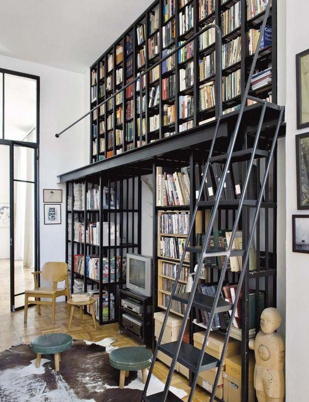 La casa de Laureen Rossouw decoración Pinterest Director - libreria diseo