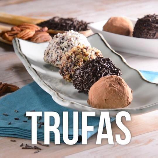 Prepara Estas Deliciosas Trufas Con Ganache De #chocolate