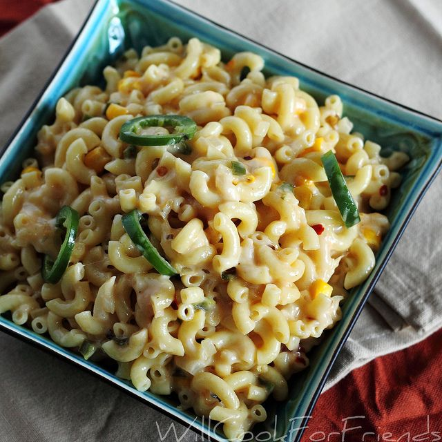 macaroni con queso