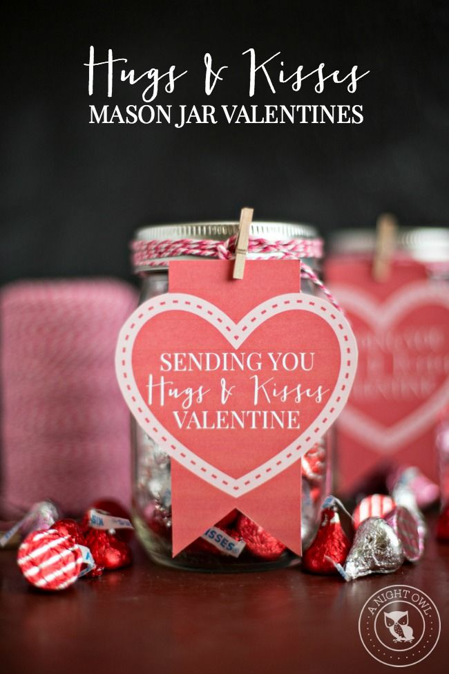 Valentine Candy Corn Mason Jar Gift ~ It May Be Corny But I {heart